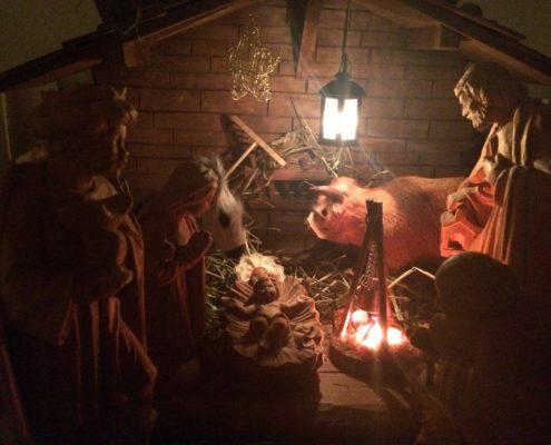 Krippe Weihnachten 2016